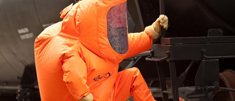 ONESUIT Pro 2 chemical suit offers maximum protection at minimum price