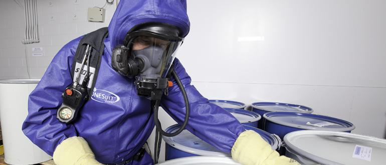 ONESUIT Shield 2 protects from CBRN agents and toxic chemicals
